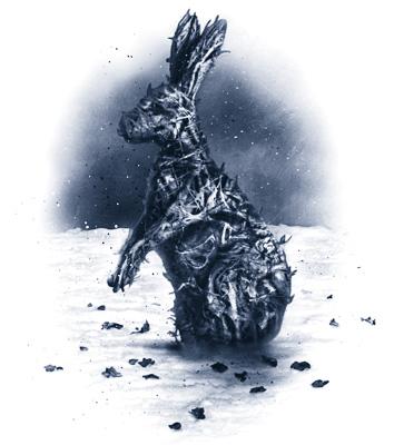 burnt hedge rabbit_duotone