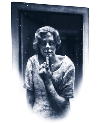 decayed woman_duotone