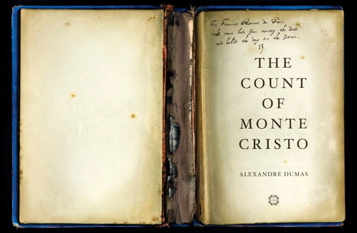 the count of monte cristo inscription