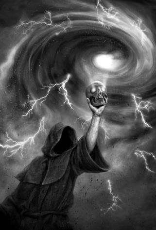 under the vortex