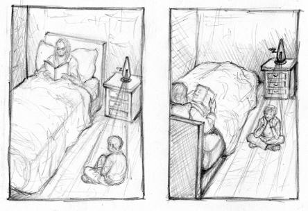 bedtime machine rough